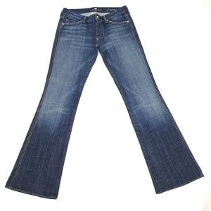7 For All Mankind Jeans A Pocket Flare Size